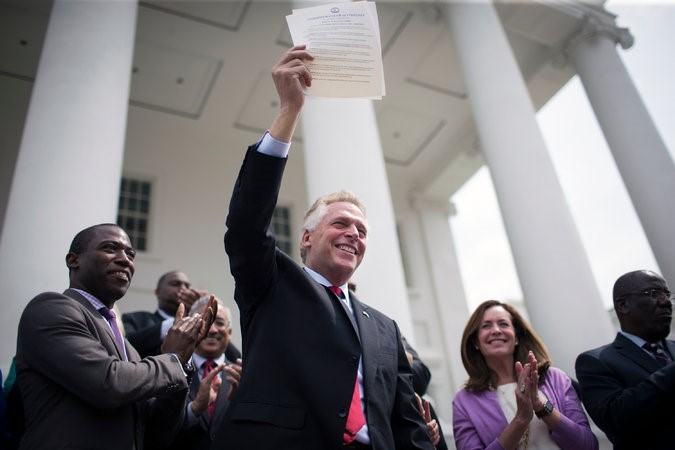 Virginia Governor Restores Voting Rights to Felons - The National Incarceration Association