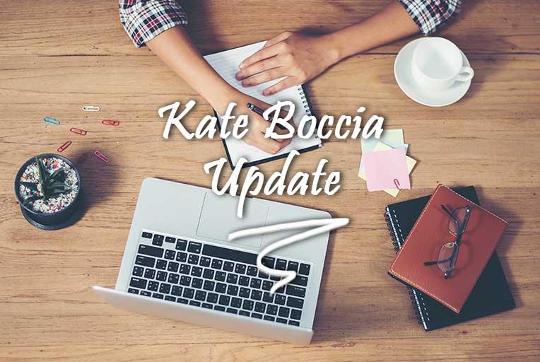 Kate Boccia - An Update