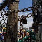 locked playground