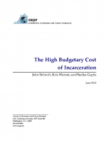 High Budgetary Cost of Incarceration