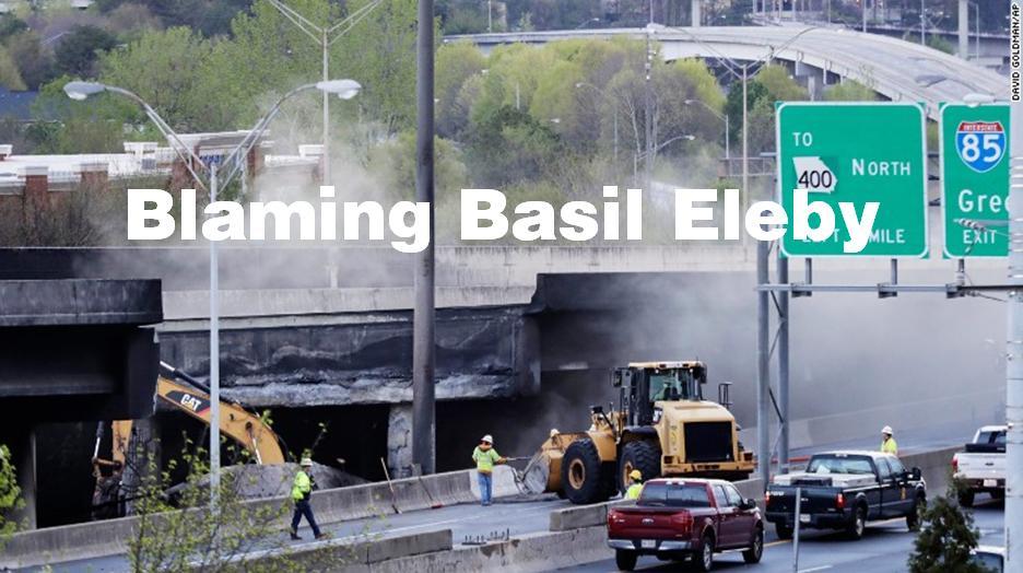 Blaming Basil Eleby