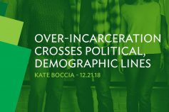 Over-incarceration crosses political, demographic lines