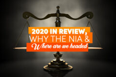 2020 In Review, Why the NIA & Where are we Headed.