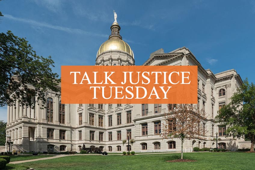Talk Justice Tuesday