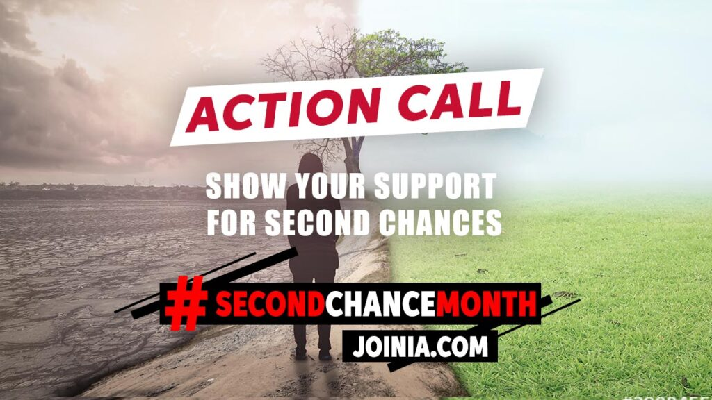 Show Your Support for Second Chance Month 2