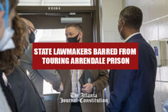 State lawmakers barred from touring Arrendale prison
