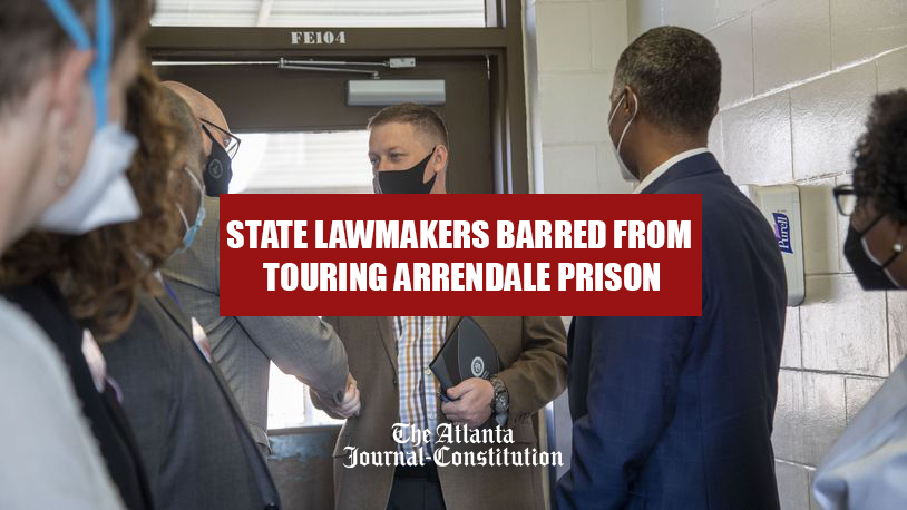 State Law Makers Barred From Touring Lee Arrendale Prison