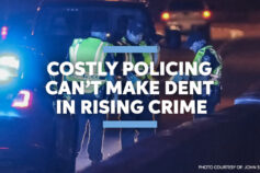 Costly policing can't make dent in rising crime