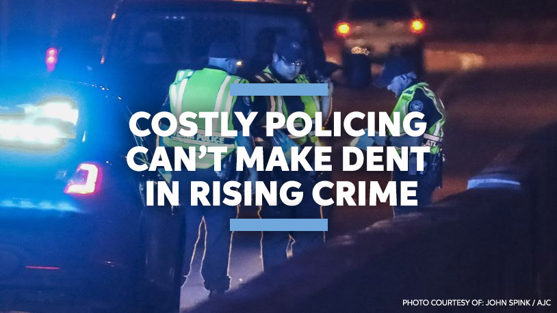 Costly Policing Cant make dent in Rising Crime 2021